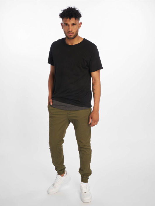 Urban Classics T-Shirt Full Double Layered schwarz