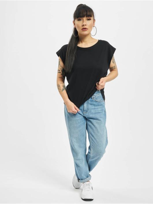 Urban Classics T-Shirt Basic Shaped schwarz