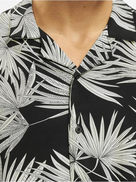 Urban Classics T-Shirt Frond Resort schwarz