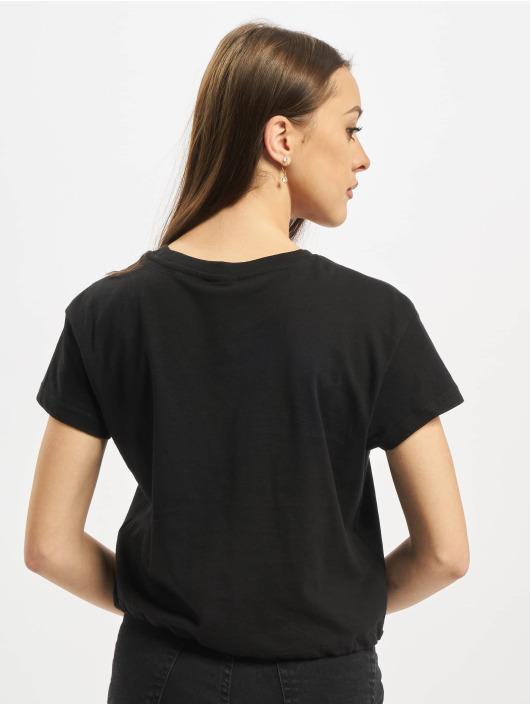 Urban Classics T-Shirt Ladies Cropped Tunnel schwarz