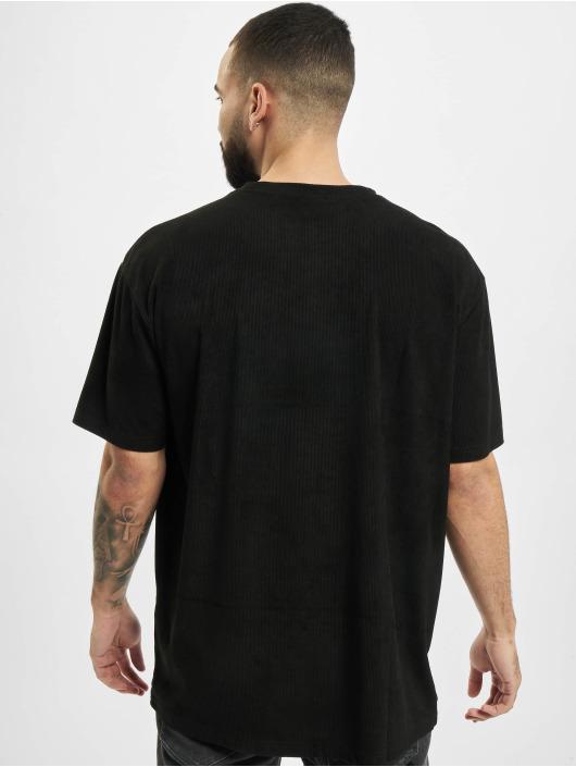 Urban Classics T-Shirt Oversized Peached Rib Tee schwarz