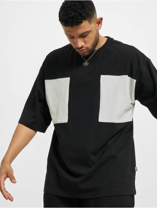Urban Classics T-Shirt Big Double Pocket schwarz