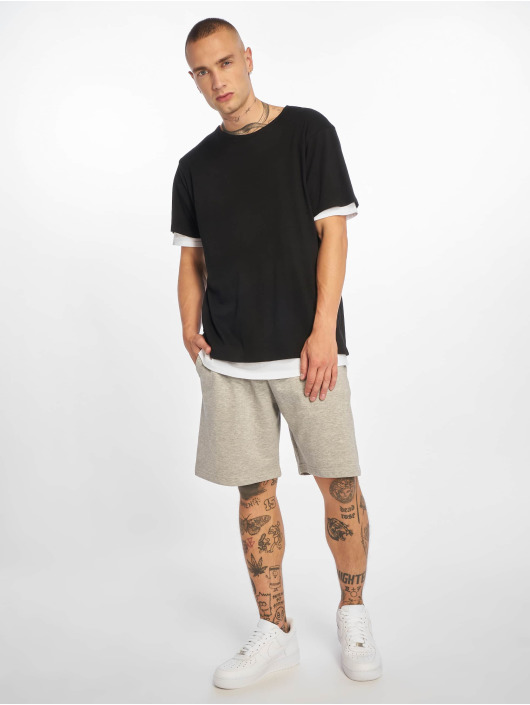 Urban Classics T-shirt Full Double Layered svart