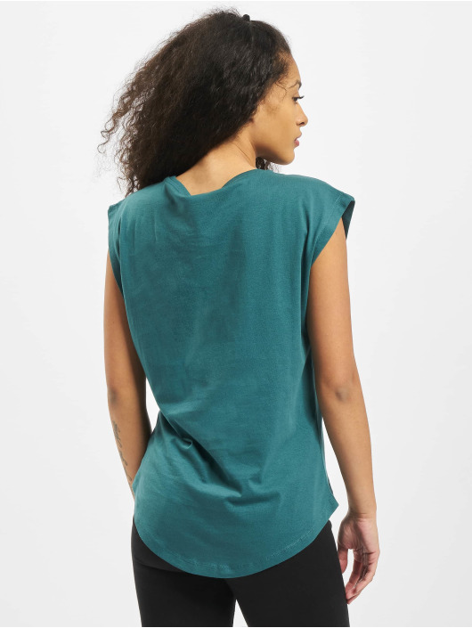 Urban Classics T-Shirt Ladies Basic Shaped turquoise
