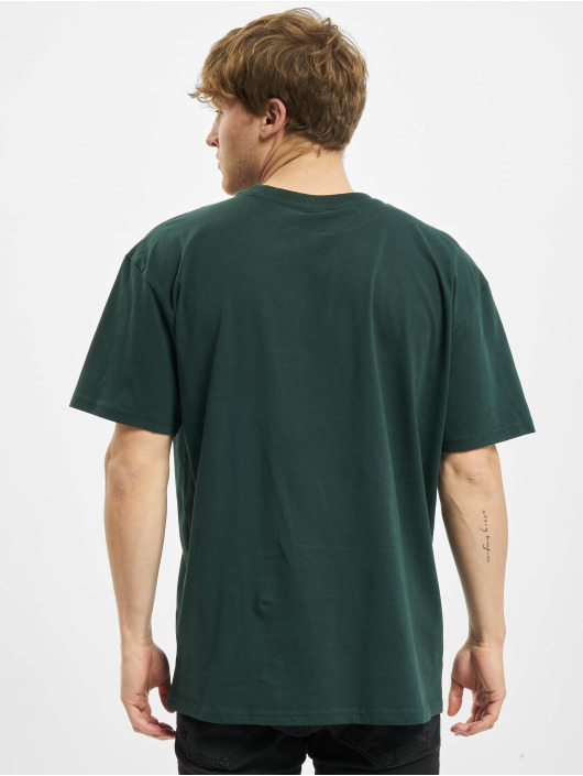 Urban Classics T-shirt College Print Tee verde