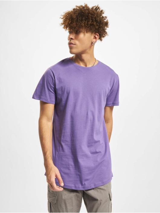 Urban Classics T-Shirt Shaped Long violet