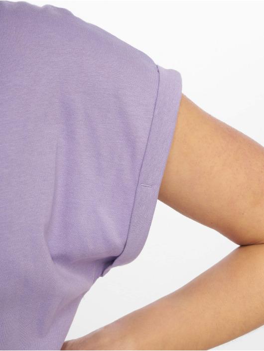 Urban Classics T-Shirt Extended Shoulder violet