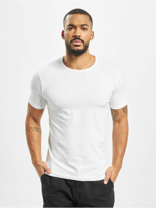 Urban Classics T-Shirt Fitted Stretch weiß