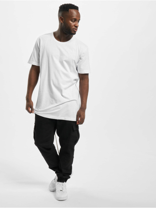 Urban Classics T-Shirt Long Tail weiß