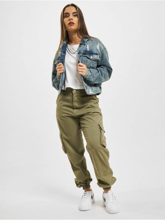 Urban Classics T-Shirt Ladies Oversized Short weiß