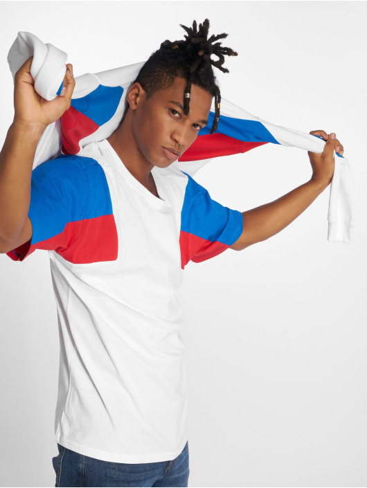 Urban Classics T-Shirt 3-Tone weiß