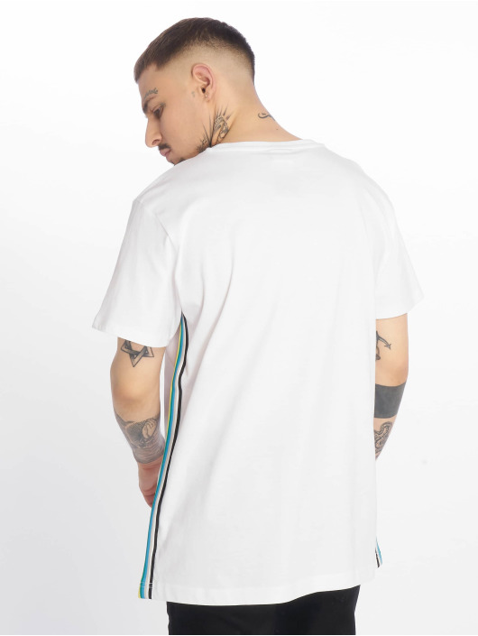 Urban Classics T-Shirt Side Taped weiß
