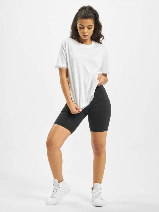 Urban Classics T-Shirt Boxy Lace weiß