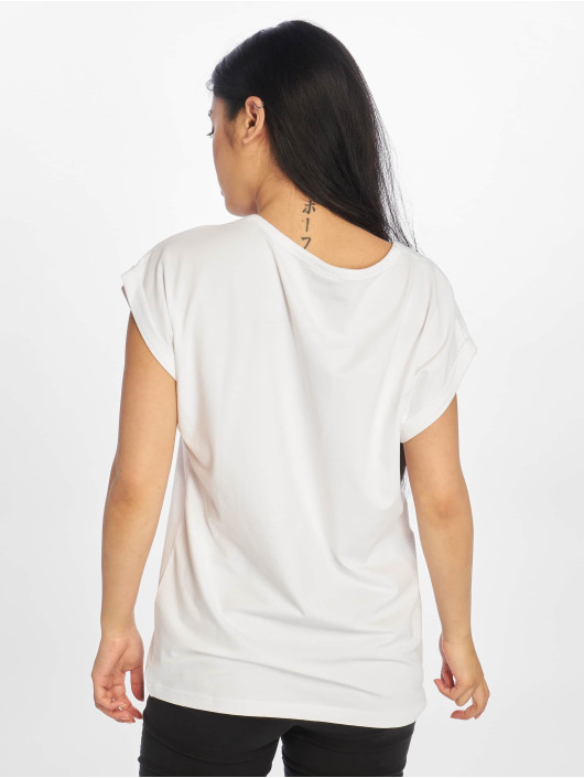 Urban Classics T-Shirt Extended Shoulder weiß