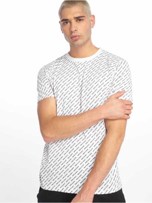Urban Classics T-Shirt Allover Logo white