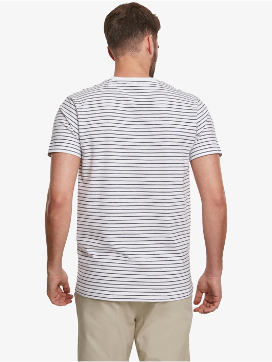 Urban Classics T-Shirt Basic Stripe white