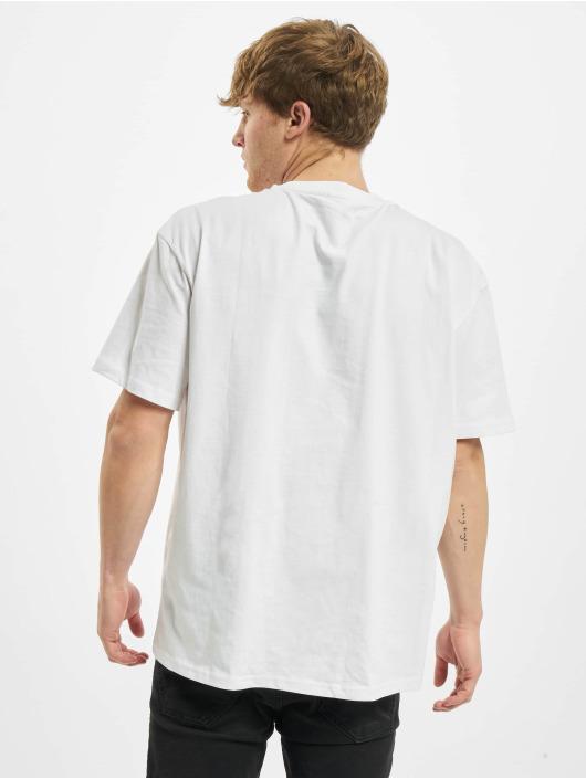 Urban Classics T-Shirt Oversized Big Pocket white