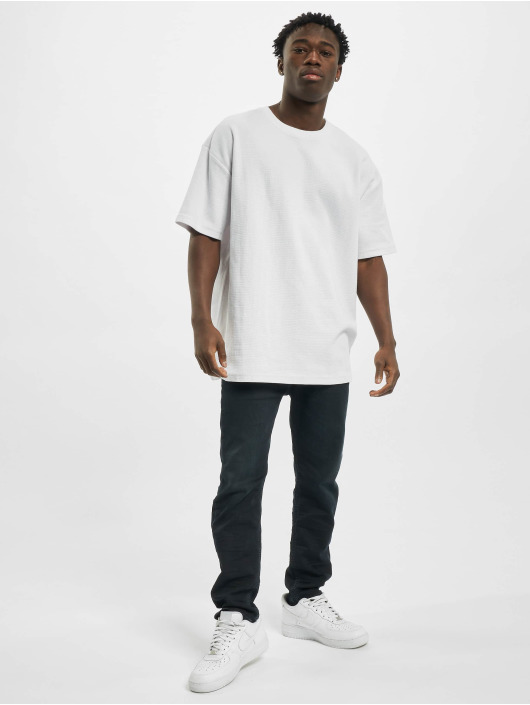 Urban Classics T-Shirt Oversized Waffle Tee white
