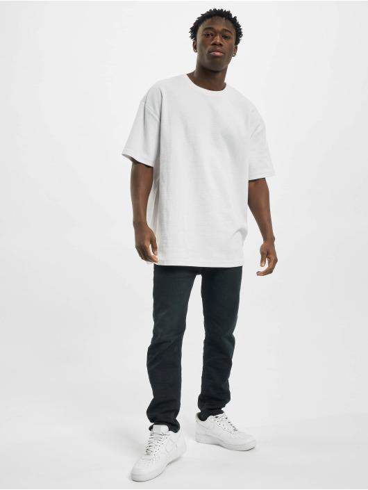 Urban Classics t-shirt Oversized Waffle Tee wit