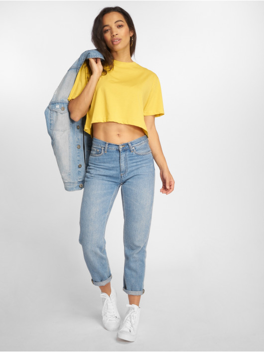 Urban Classics T-Shirt Short Oversized yellow