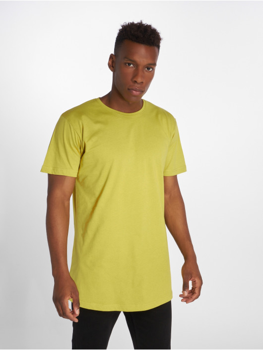 Urban Classics T-Shirt Shaped Long yellow