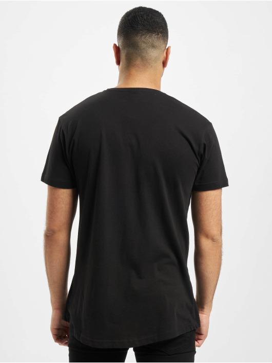 Urban Classics t-shirt Shaped Long zwart