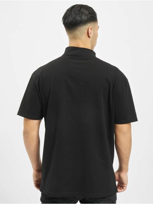 Urban Classics t-shirt Oversized Turtleneck zwart