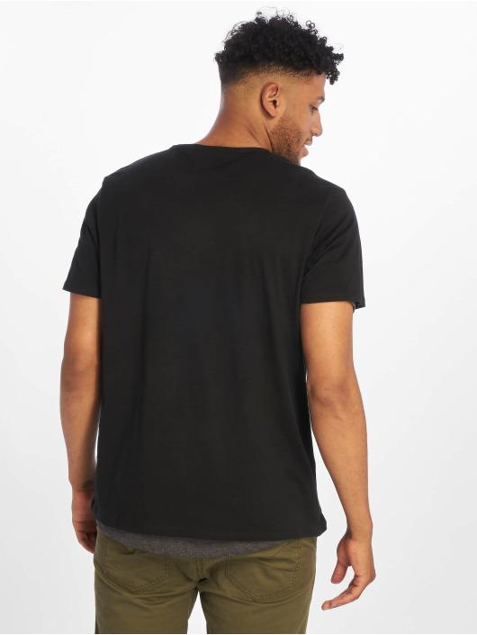 Urban Classics t-shirt Full Double Layered zwart