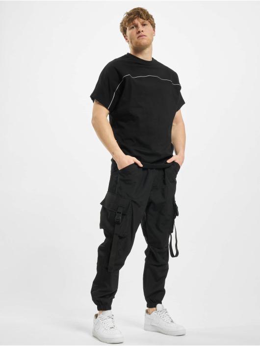 Urban Classics t-shirt Reflective Tee zwart
