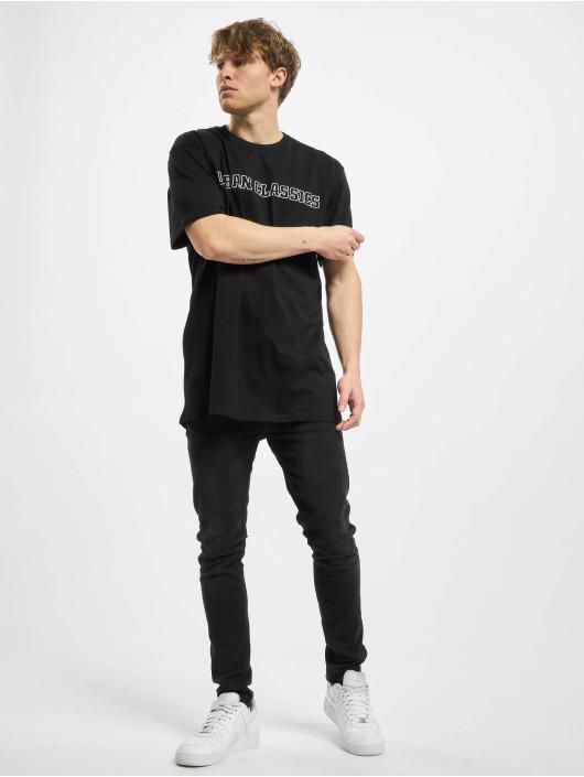 Urban Classics t-shirt Big Logo Oversized Tee zwart