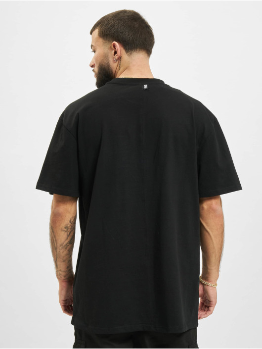 Urban Classics t-shirt Oversized Big Flap Pocket zwart