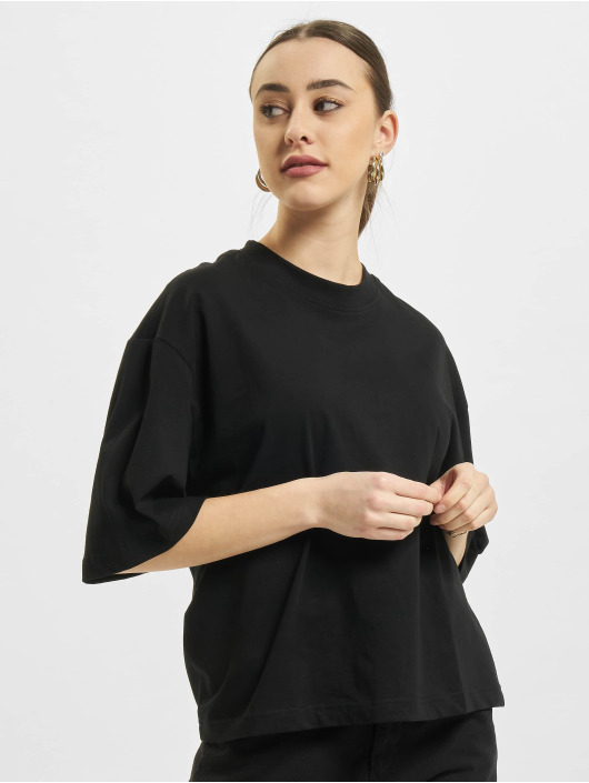 Urban Classics t-shirt Organic Oversized zwart