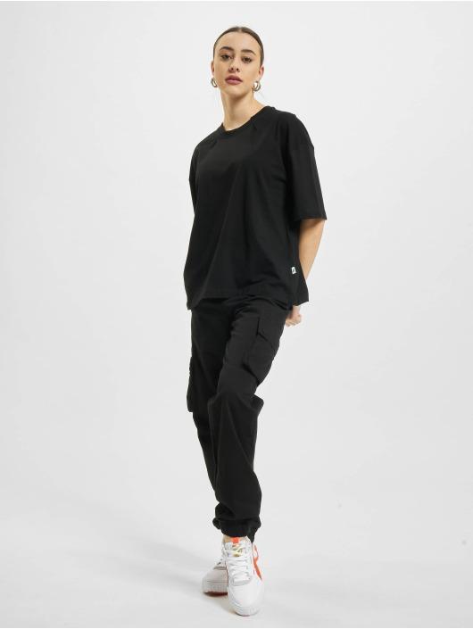 Urban Classics t-shirt Organic Oversized Pleat zwart