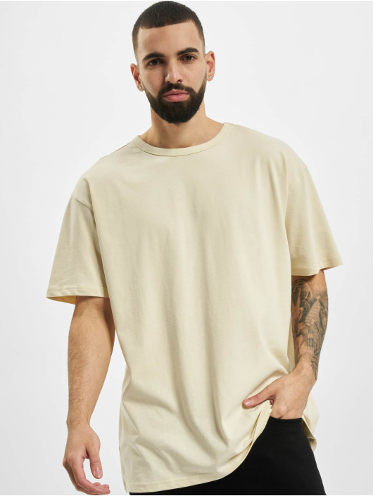 Urban Classics T-shirts Organic Basic Tee beige
