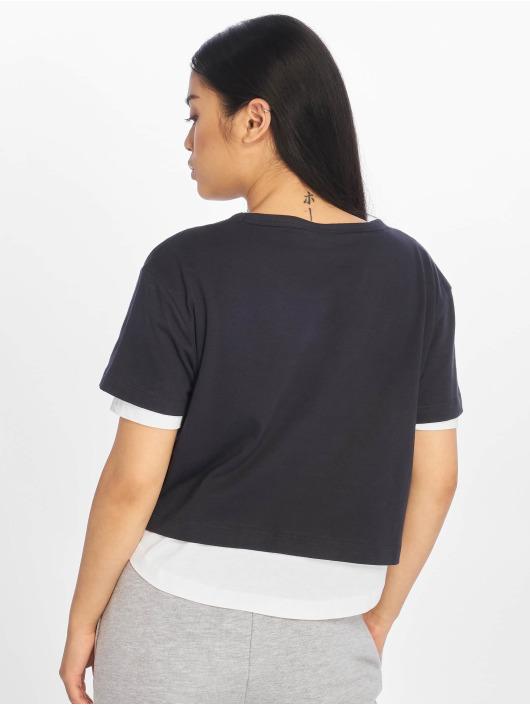 Urban Classics T-shirts Full Double Layered blå