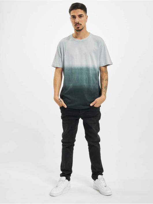 Urban Classics T-shirts Dip Dyed grå