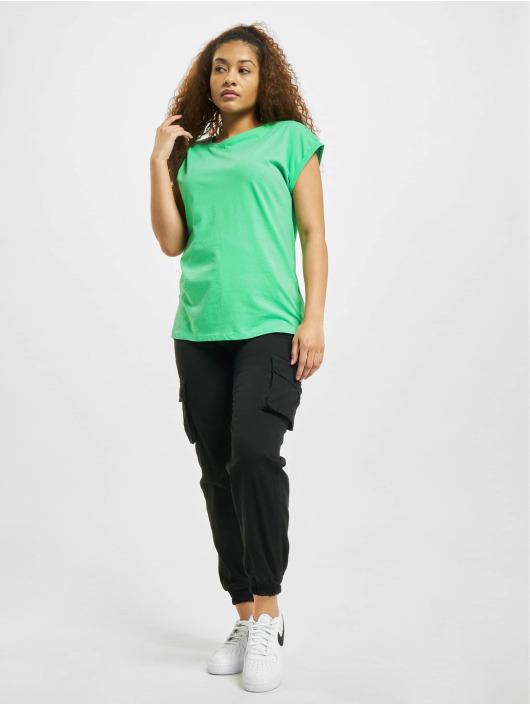 Urban Classics T-shirts Extended Shoulder grøn