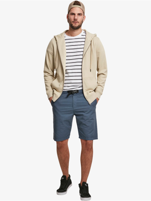 Urban Classics T-shirts Basic Stripe Oversized hvid