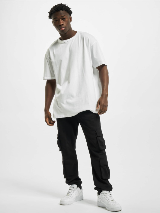Urban Classics T-shirts Organic Basic Tee hvid