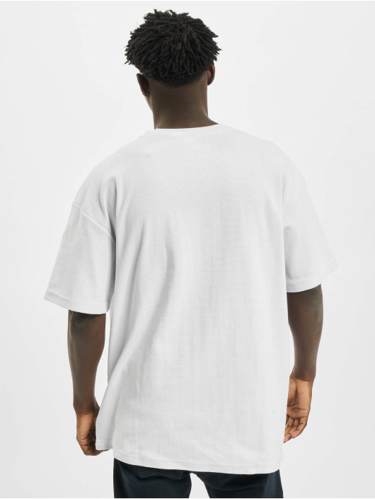 Urban Classics T-shirts Oversized Waffle Tee hvid