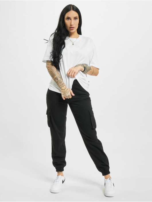 Urban Classics T-shirts Organic Oversized Pleat 2-Pack hvid