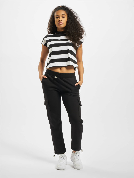 Urban Classics T-shirts Stripe Short 2-Pack sort