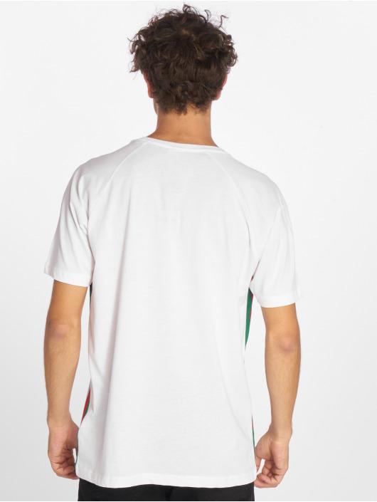 Urban Classics T-Shirty Side Stripe Raglan bialy