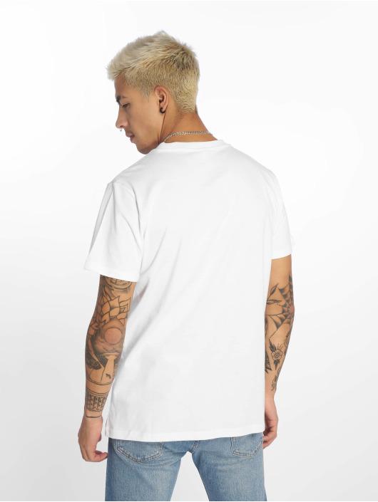 Urban Classics T-Shirty Check Panel bialy