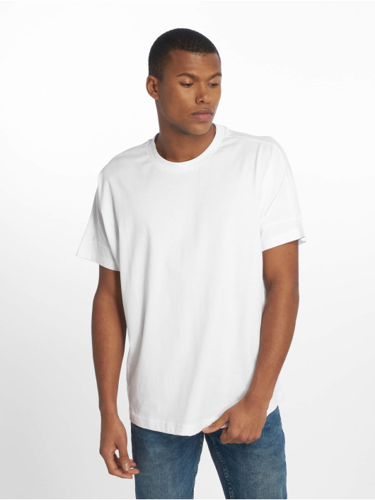 Urban Classics T-Shirty Oversize Cut On Sleeve bialy
