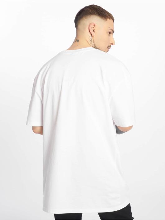 Urban Classics T-Shirty Mesh Panel bialy