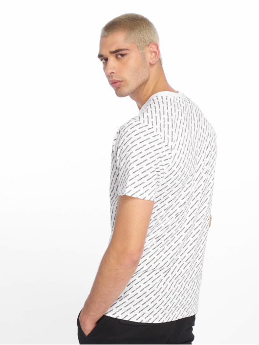 Urban Classics T-Shirty Allover Logo bialy
