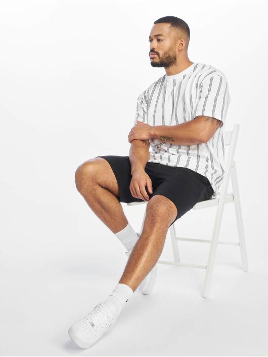 Urban Classics T-Shirty Heavy Oversized Stripe bialy