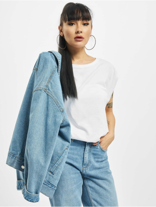 Urban Classics T-Shirty Basic Shaped bialy