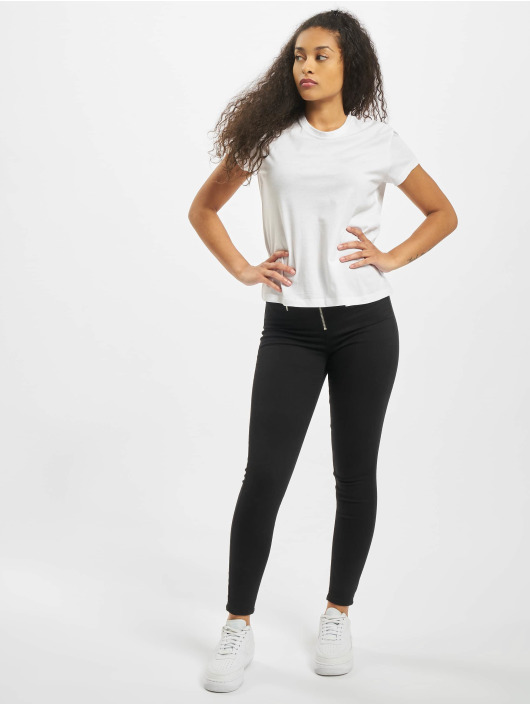 Urban Classics T-Shirty Ladies Basic Box bialy
